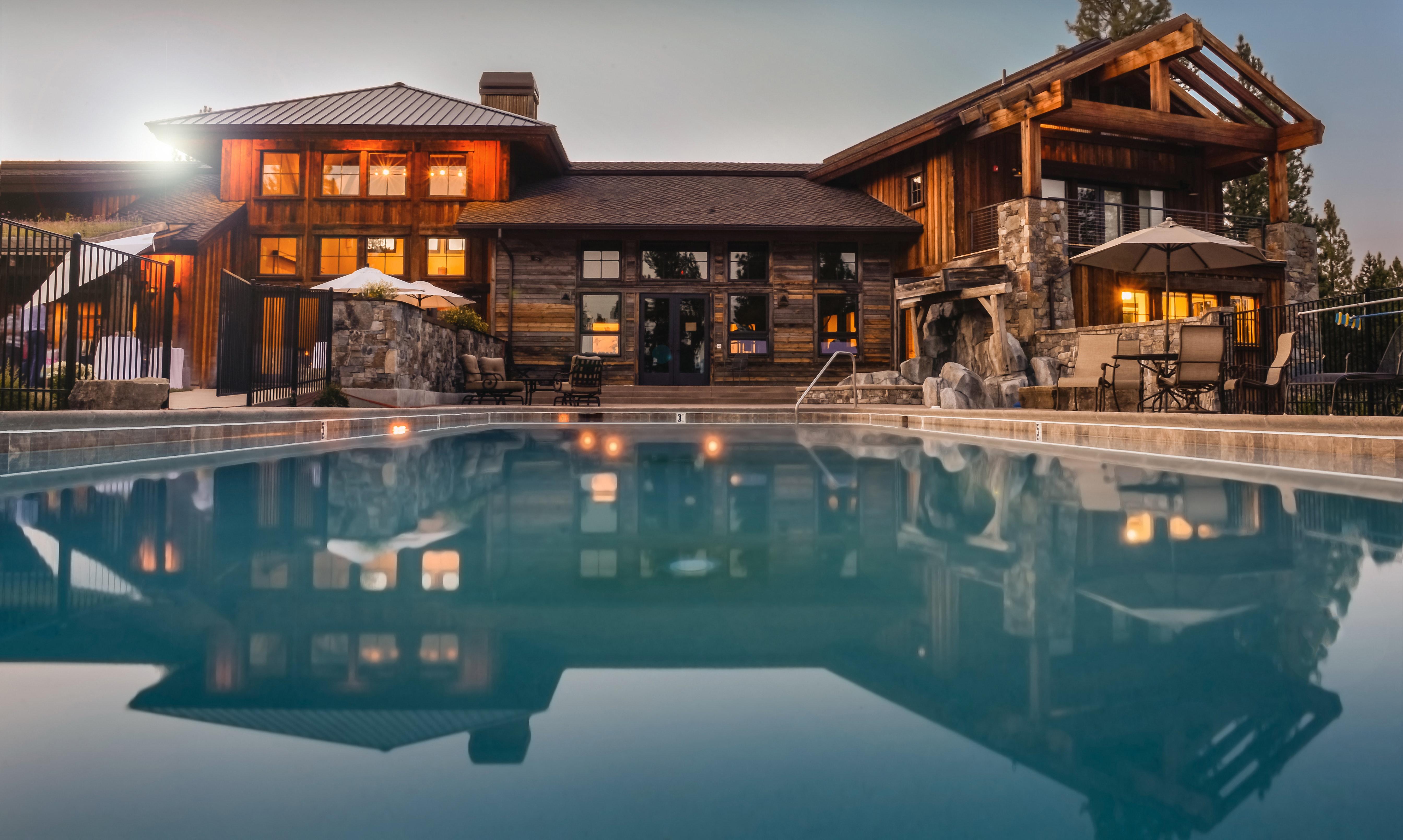 Image of backyard with pool