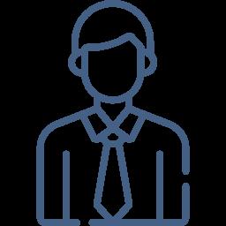 Digital image of businessman
